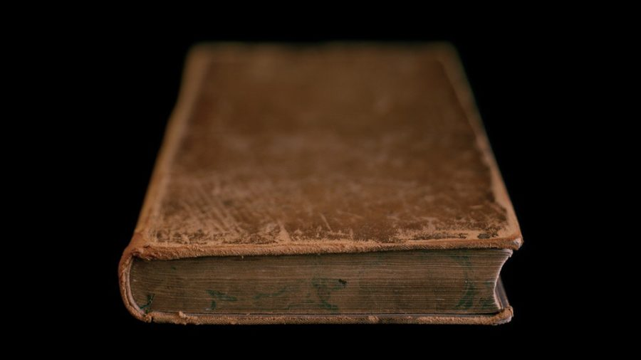 First Book Purchased After Slavery, Frederick Douglass, University of Rochester, New York