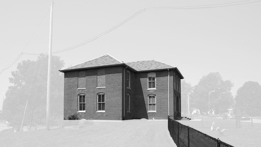 Booker T. Washington School, Rushville, IN