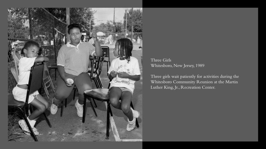 Three Girls, Whitesboro, New Jersey 1989