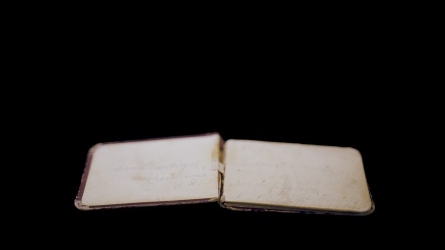 Annie Vanderzee Autograph Book, Nebraska State Historical Society, Lincoln, NE