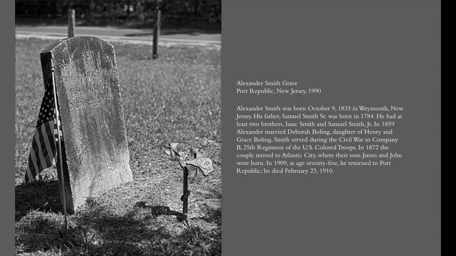 alexander smith headstone w-text