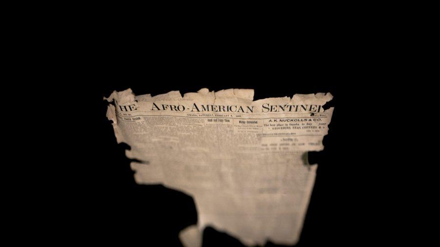 Afro-American Sentinel, 1899, Great Plain Black History Museum, Omaha, NE