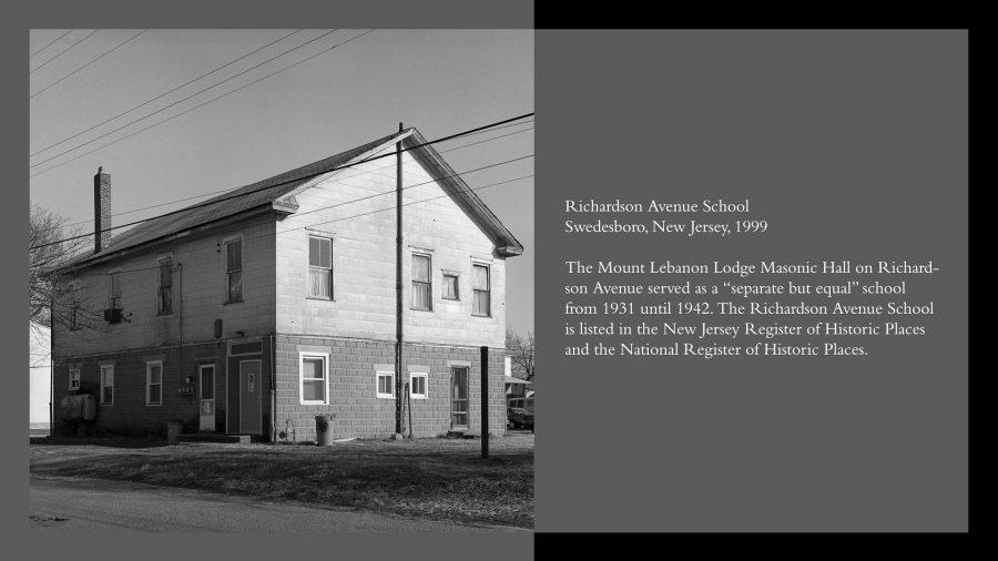 richardson ave school w-text