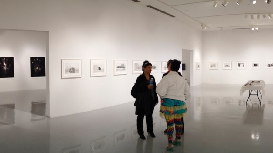 """Schools for the Colored installation in """"On Photography: Culture, History, and the Narrative"""""""