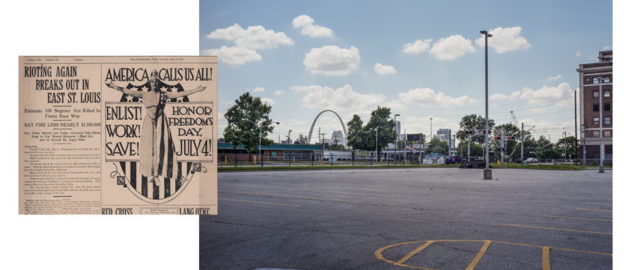 East St Louis, IL. July 2, 1917