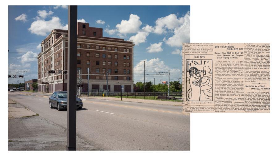 East St. Louis, IL. July 2, 1917