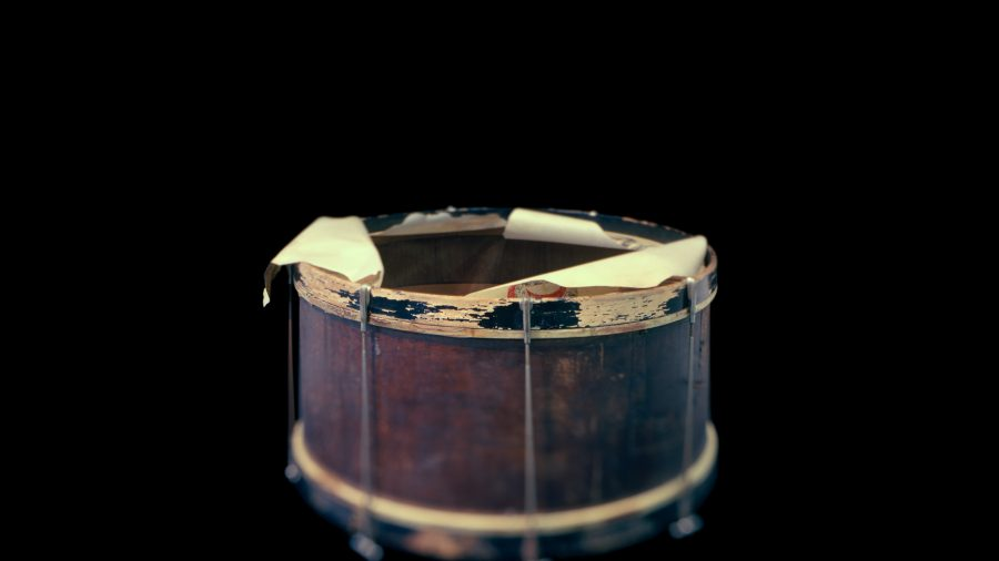 Drum, Dan Desdunes Band, Great Plain Black History Museum, Omaha, NE