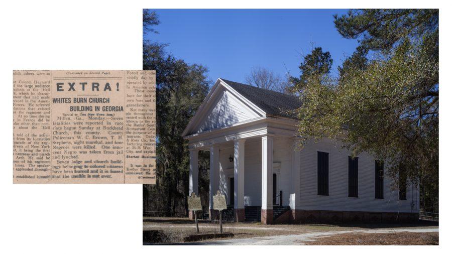 Big Buckhead Church, Millen, GA.
