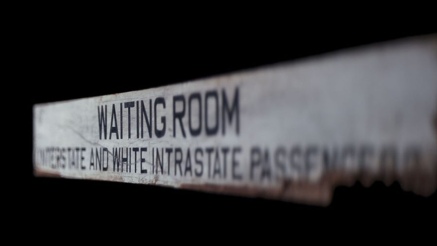 Segregated Bus Waiting Room Sign, NMAAHC, Washington, DC