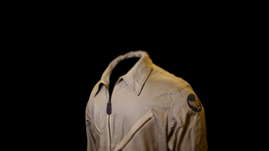 Woodrow W. Crockett, Flight Suit, Tuskegee Airmen, NMAAHC, Washi