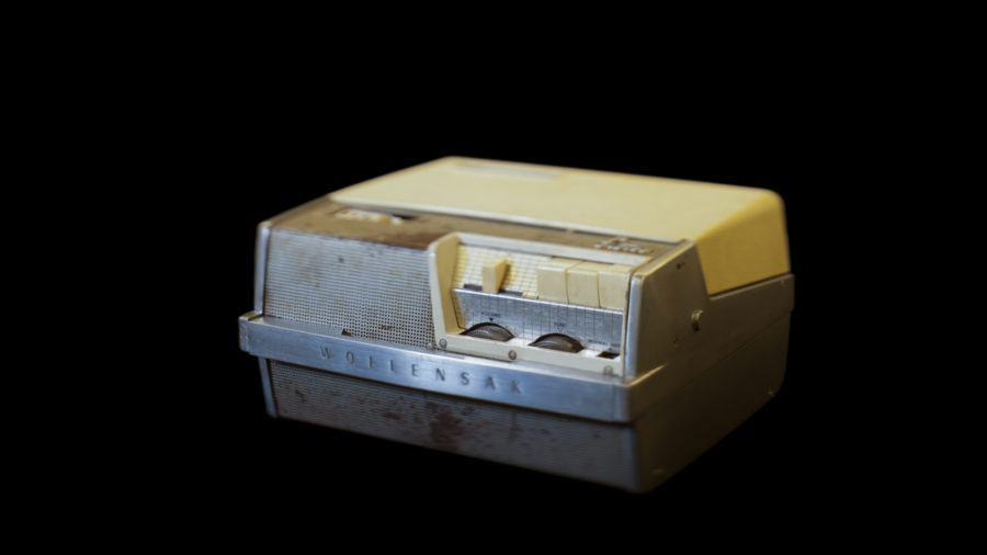 Tape recorder used by Malcolm X at Mosque #7, NMAAHC, Washington