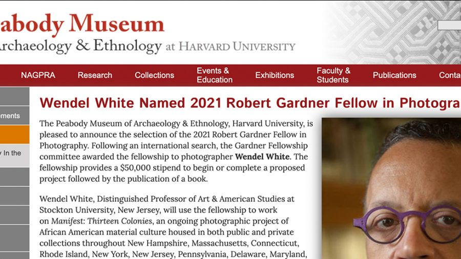 Robert Gardner Fellow in Photography, Peabody Museum of Archeology & Ethnography, Harvard University, Cambridge MA 2021