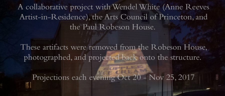 Paul Robeson House Project, Princeton, NJ